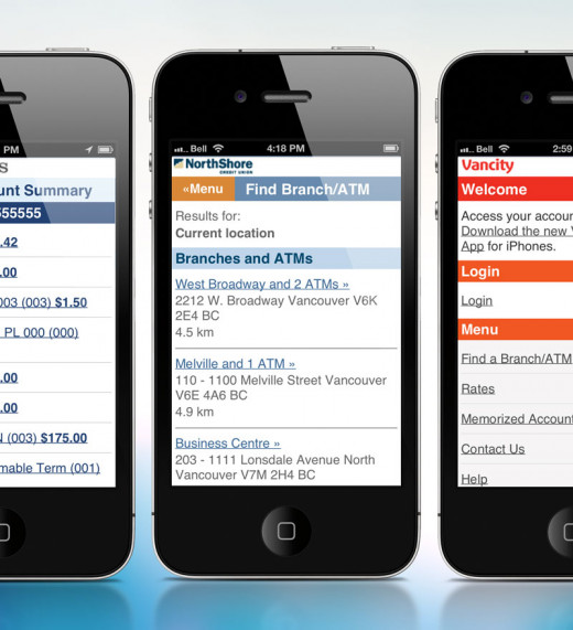 Mobile Banking Web App example image 1
