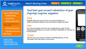 SMS Banking Demo